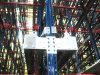 Cremalheira de rádio automática da pálete da canela do preço de fábrica