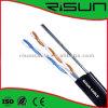 Cu / CCA / Tc Conductor (PVC + PE) Chaqueta UTP Cat5e con alambre de acero