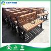 Asiento de banco plástico al aire libre chino del metal de las piernas de banco de los asientos de la antigüedad plástica al aire libre al aire libre del jardín (FY-060X)