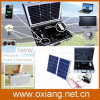 Fans 텔레비젼과 Lighting를 위한 휴대용 500W Solar Home Power System Briefcase Solar Generator