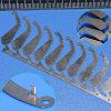 Hoja de piezas de metal estampado personalizado