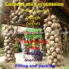 Máquina del extracto de la leche de coco de la máquina del tratamiento de la leche de coco de Brown para conseguir la bebida de los Cocos