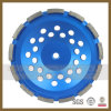 5  인치 다이아몬드 화강암 화강암 폴란드어를 위한 가는 닦는 컵 바퀴