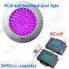 Lumière sans fil de DMX LED, éclairage sous-marin de piscine de la lumière IP68 de 18W DMX RVB LED