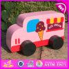 O brinquedo de madeira do carro da venda 2015 quente, carro de madeira encantador do brinquedo, caçoou o brinquedo de madeira do carro, madeira do brinquedo do carro para o bebê W04A202
