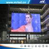 Vente de publicité de marche polychrome de haute résolution de panneau-réclame de l'affichage à LED LED de Mrled P16