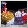 LED 3D 주제 옥외 크리스마스 가로등 장식적인 빛