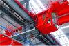 Fil sûr employé couramment de glissière de Dmhx Simple-Pôle pour lever des usines de l'électricité d'usines sidérurgiques de machines