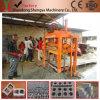 Kleiner konkreter hohler Block Qtj4-40, der Maschine niedriges Investitions-Geschäft bildet
