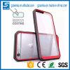 Caja transparente de parachoques híbrida del teléfono celular para el iPhone 7/7 más