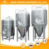 Depósito de fermentación cónico de la cerveza de la máquina 2000L de la cerveza de la fabricación de la cerveza