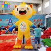 Brasilienrio Olympics-Spiel-Luft-aufblasbares Ballon-Maskottchen-Baumuster Tom u. Vinicius