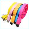 Samsung 은하 Note3 (KCS-3002-001)를 위한 다채로운 편평한 USB 3.0 케이블