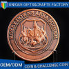 Monete su ordinazione del metallo incise 3D dell'oggetto d'antiquariato del ricordo di sfida