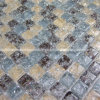 Crystal&Glass Tiles, Straight Flange Glass und Crystal Plating Surface/Mosaic Tiles