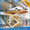 Das hydraulische stationäre Auto Scissor Aufzug-Plattform-/Auto-Aufzug-Tisch