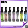 Long 도매 Wick Colorful Original T2 EGO Clearomizer 2.4ml