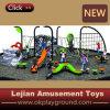 Cour de jeu s'élevante extérieure de glissière d'enfants colorés de conception (PY1201-20)