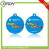 Etiqueta dominante del PVC de la impresión NTAG213 NFC de CYMK/keyfob