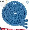 Luz crua da alta qualidade - a corda oca lisa trançada azul do algodão para o vestuário do saco calç o tampão