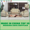 Sofá europeo 1+2+3 del cuero de la sala de estar de la tapicería de los muebles modulares