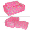 Peúgas do presságio da flor da cor-de-rosa do dorminhoco do sofá de WKids (MACS0006) (CS-FW-13)