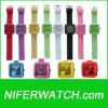 실리콘 석영 소녀 시계 (NFSP058)