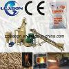 Il legno della segatura del combustibile della biomassa appallottola la macchina