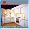 安いデザイン現代純木の白いラッカーを塗られた食器棚(KDSLC006)