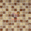Cristal de color beige Ice-Cracked Mosaic (CC163)
