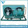 Unidade de condensação rachada com tipo condensador de V