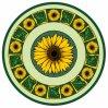 Tegel 1200X1200mm van de Vloer van het Kristal van het Tapijt van het Patroon van de bloem Tegel Opgepoetste Ceramische (BMP33)