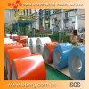 CGCC Ral5020 PPGI prepintó la bobina de acero galvanizada para el material de material para techos