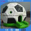 Fußball-Schloss-aufblasbarer Prahler-Spielplatz