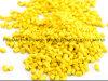 El material plástico del bulto del filamento de la impresora del PLA 3D del ABS granula el color amarillo Masterbatch