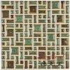 Großhandelsfabrik-direkte Qualitäts-volle Luxuxkarosserie glasig-glänzende Porzellan-keramische Mosaik-Fliese