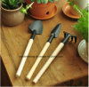 сад Tools Shovel Rake Spade Wood Handle 1set Mini