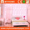 Ciel rose de papier peint pour salle de fille