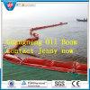 Boom del petrolio di gomma, rete fissa dell'olio, aste di inquinamento di olio del PVC