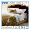 Geplaatste de Bladen van Beddig van koningin Bed New Style Plaid Hotel