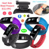 Bracelet Bluetooth Smart Bracelet avec moniteur de santé et étanche A01