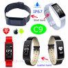 Nouvelle la plus fine Bluetooth Smart Bracelet avec moniteur de sommeil Podemeter& C9