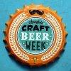 ビール瓶の帽子の形の印の錫の印の装飾的な金属のクラフト