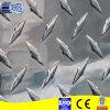 Precio de aluminio realzado estuco de la placa del inspector de la hoja de aluminio del diamante