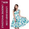 Vestito dal pattinatore del fiore dei vestiti da modo della donna (L36115-1)