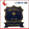 Technologie-Zink-Legierungs-materielles Metall schnitzend, Badge Polizei