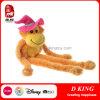 Long bras et longs jouets de peluches de singe de patte