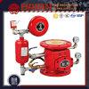 Sistema de Sprinklers em Tubulação Molhada Zsfz da válvula de retenção de água da válvula de verificação de alarme húmidas