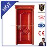Porte solide stratifiée par bois chaud européen de vente de type avec la tête supérieure
