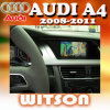 Witson lecteur DVD de voiture avec GPS pour Audi A4 (2008-2011) (W2-D9760A)